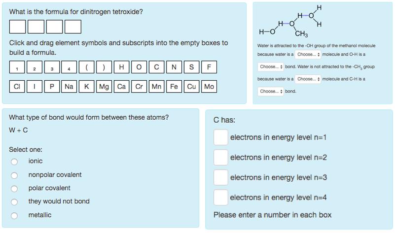 Chemistry quiz/test bank